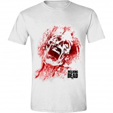 The Walking Dead - Zombie Blood Face T-Shirt
